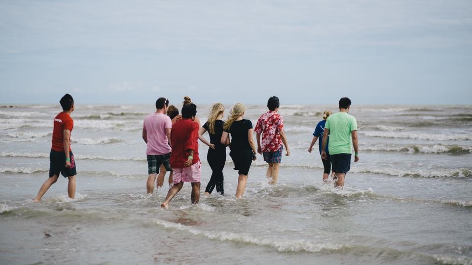 sea baptism